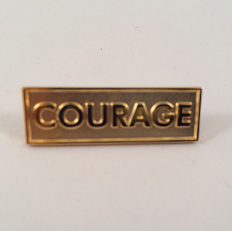 Courage pin, 2008