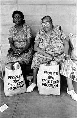 Black Panther food bank, 1972© 2015 Steven Shames/Polaris Images