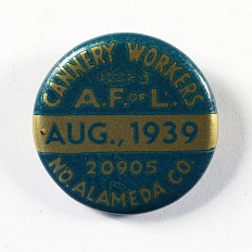 Cannery Workers, American Federation of Labor, 1939