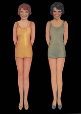 Paper dolls, 1920s-1940s