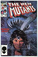 New Mutants, No. 18, 1983