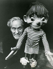 Bil Baird and Pinocchio