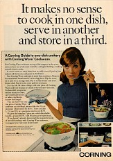 Advertisement for CorningWare, 1968