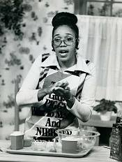 LaDeva Davis, about 1975