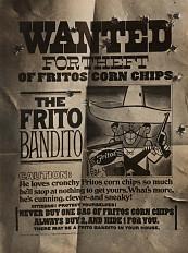 Frito Bandito ad, about 1968