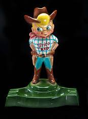 Frito Kid figurine, about 1952