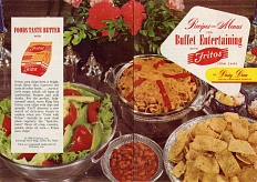 Cooking with Fritos, about 1960