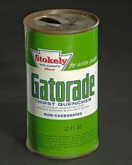 Gatorade can, 1969