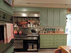 View of Julia Child's kitchen