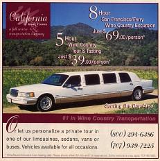 Wine tour, 1999