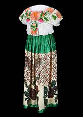Mexican-Style Dress, about 1960