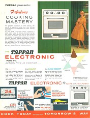 Tappan informational flier, 1955 (front)