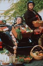 Clarissa Dickson Wright and Jennifer Paterson, 1996