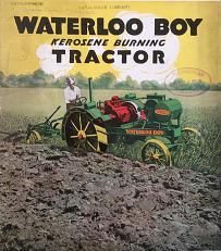 Waterloo Boy tractor catalog, 1920