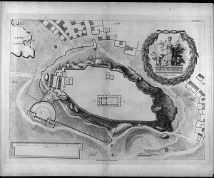 A plan of the Acropolis