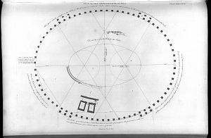 Plan of the Amphitheatre of Pola