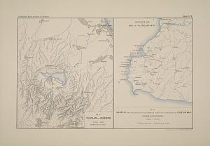 Vulkaan van Cheribon ... Kaartje ter verduidelijking van de ligging der lagen in het terrein rondom de Tjilĕtoe-Baai. (Preanger regentschappen.)