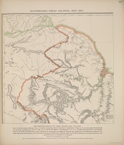 Schomburgk-Great Colonial Map-1887.