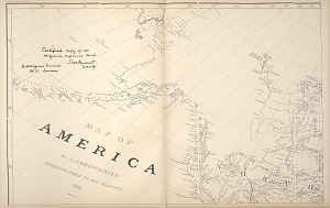 Map of America ...