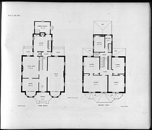 Plans for Villa, No. 2.