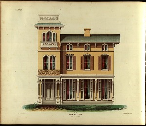 Villa, No. 10. Front Elevation.