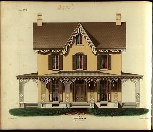 Cottage, No. 12. Front Elevation.