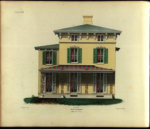 Cottage, No. 14. Front Elevation.