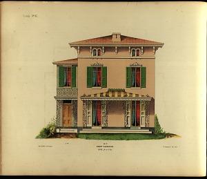 Cottage, No. 17. Front Elevation.