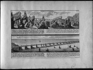 Le grand pont Chinois entre la capitale Focheu et le Fauxbourg Nantai ... Le Pont de Loyang dans la Province Chinoise Fukien