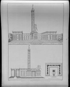 Entwurf zu einem denkmal für König Friedrich den Grossen.