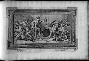Fineus mente furens connubia coedibus implet hospitis inuisi : ...