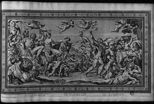 Bacchantum thyasis ibat comitatus Iacchus ...