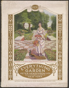 A Glimpse of the White House Gardens in the Days of Dolly Madison. Everything for the Garden, 1926. Peter Henderson & Co.