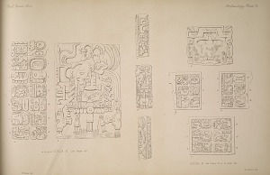 Stela II. See page 68. Altar Z. See Plate 113. a. & Page 68.