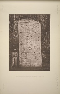 Ixkun. Stela, and circular altar, See Plate 69 & Pages 21-22.