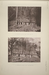 (a) House H. See Plan Plate 77, and Page 45. (b) Temple K. See Plan Plate 77, and pages, 45-46.