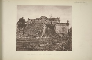 Casa de Monjas, Plate 2, No. 1 & Plate 3, from the north west, See pages 14-16.