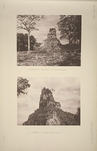 (a) Temple B, east face, See Plate 69 and Page 47. (b) Temple B, See Plate 69 and Page 47.