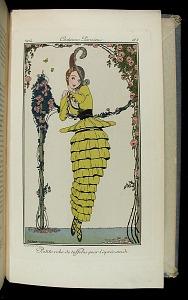 Pl. 183: Costumes Parisiens. Petite robe de taffetas pour l'apres-midi