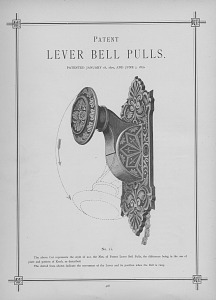Patent Lever Bell Pulls