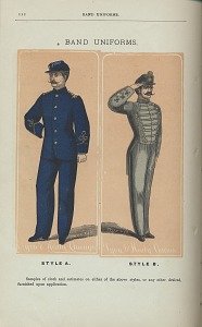 Band Uniforms, Style A and Style B