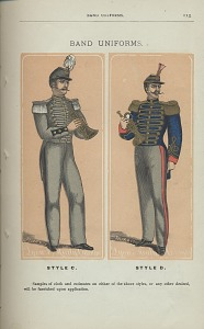 Band Uniforms, Style C and Style D