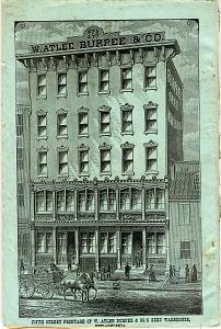 Fifth street frontage of W. Atlee Burpee & Com's seed warehouse, Philadelphia