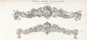 Nouveaux ornemens en cuivre estampé de la Fabrique de H. Bordeaux, Rue St. Sauveur. 12. Paris.