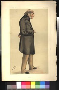 From Vanity Fair, Nov. 6, 1880. Includes accompanying text page 261,