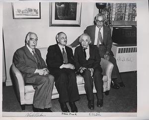 Portrait of Albert Einstein and Others.