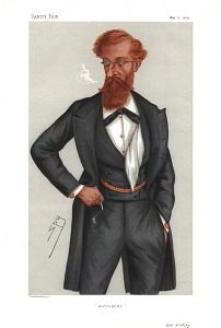 From Vanity Fair, May 11, 1878. With accompanying  biographical text,