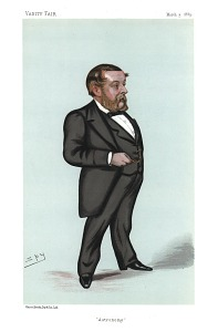 From Vanity Fair, Mar. 3, 1883. With accompanying biographical text,