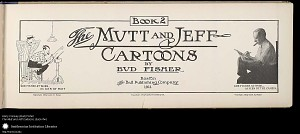 Mutt and Jeff Cartoons Book 2 by Bud Fisher