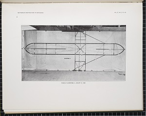 Frame of aerodrome, January 31, 1900